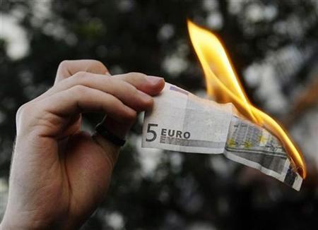Burning-Euro