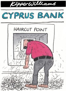 Kipper Williams on Cyprus