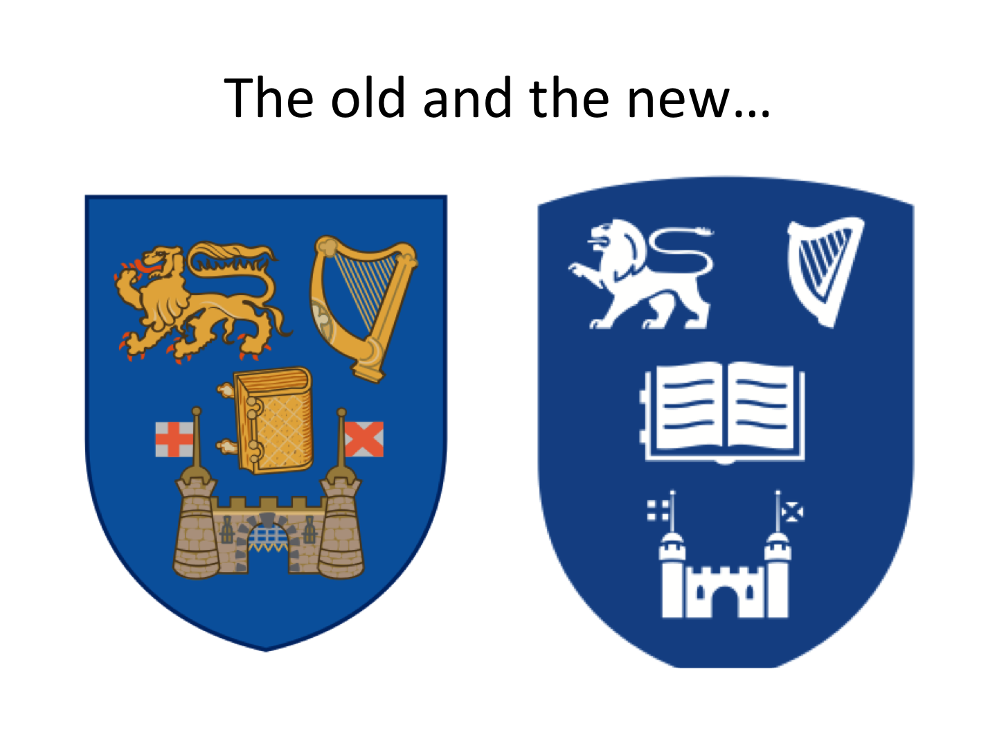 Further Thoughts On Tcd Rebranding Brian M Lucey
